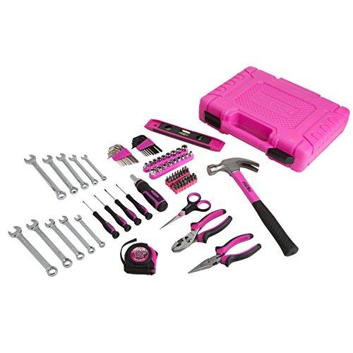 The Original Pink Box PB48HRK Household Tool Set Pink 94-Piece