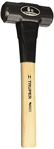 Truper 33186 6-Pound Sledge Hammer Hickory Handle 16-Inch