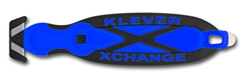 Safety Box Cutter Klever XChange Blue Klever Kutter KCJ-XC-B