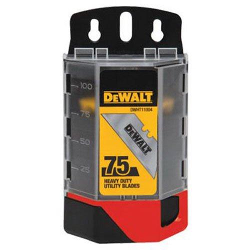 DEWALT DWHT11004L Heavy Duty Utility Blades 75-Pack