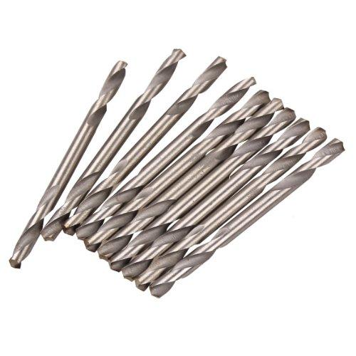 WinnerEco 10PCS HSS Double Ended Spiral Drill Bits Twist Drill Tools Set32mm