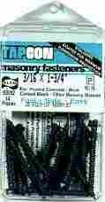 Tapcon Masonry Fasteners 23405 Pk14 x 5