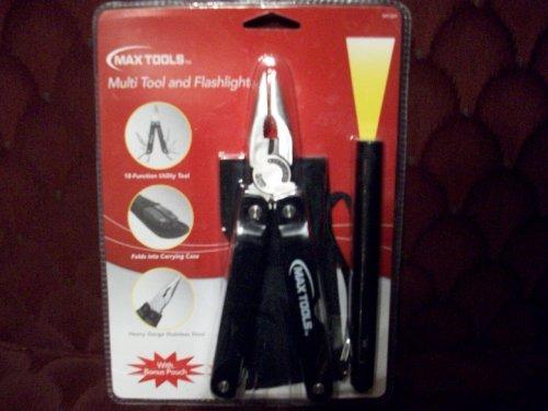 Max Tools Multi Tool and Flashlight