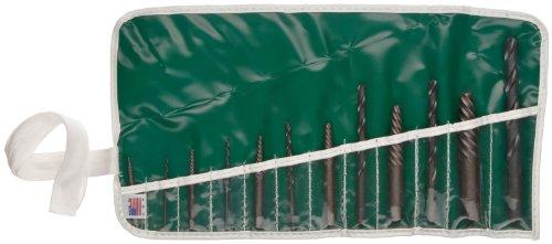 Chicago Latrobe 800 Series Bright Finish Screw Extractor Set Wire 12-piece 1 - 6