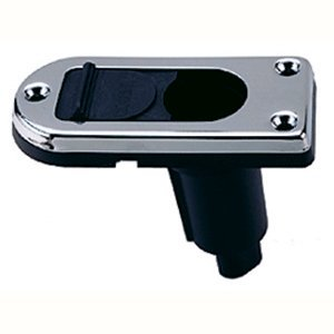 Perko Locking Collar Pole Light Mounting Base - 2 Pin - Chrome Plated