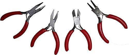 Trademark Tools 75-1050 Hawk Professional Micro Plier Set 4-Piece