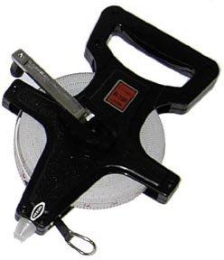 100 30 Meters Fiberglass Measuring Tape with Open Reel Set of 3