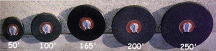 165 50 Meters Fiberglass Measuring Tape with Closed Reel Set of 2