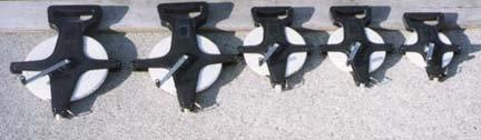 200 60 Meters Fiberglass Measuring Tape with Open Reel Set of 2