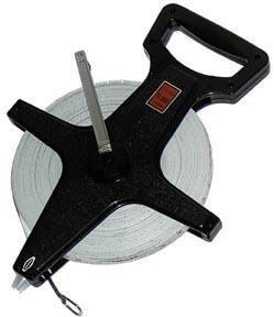 Champion Sports 330ft or 100M Open Reel Fiberglass Measuring Tape