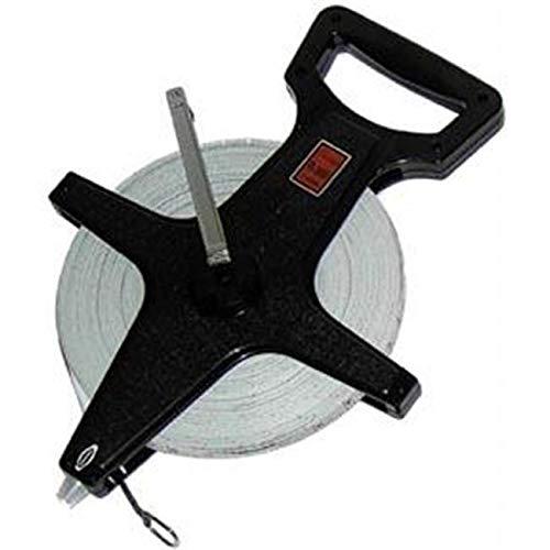 OKSLO Open Reel Fiberglass Measuring Tape - 300 ft