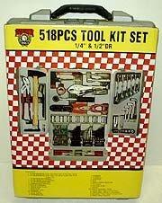518 Pcs Tool Kit