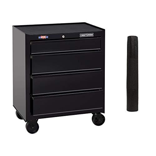 CRAFTSMAN Tool Cabinet 26-Inch 4 Drawer Black CMST82765BK Renewed