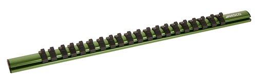 Nesco Tools 45714 Green 12 Magnetic Aluminum Socket Holder