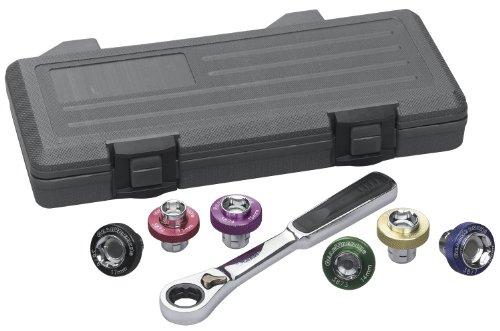 GearWrench 3870D Oil Drain Plug Socket 7 Piece Complete set - Case
