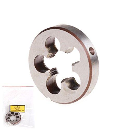 ZFE 1Pc M23x10mm Pitch HSS High Speed Steel Metric Right Hand Die Machine Thread Die
