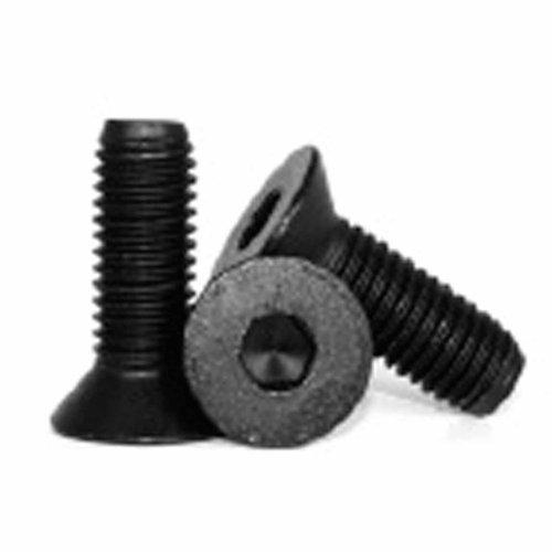 Metric M4 X 10mm Flat Head Socket Cap Screw Black Pack of 10