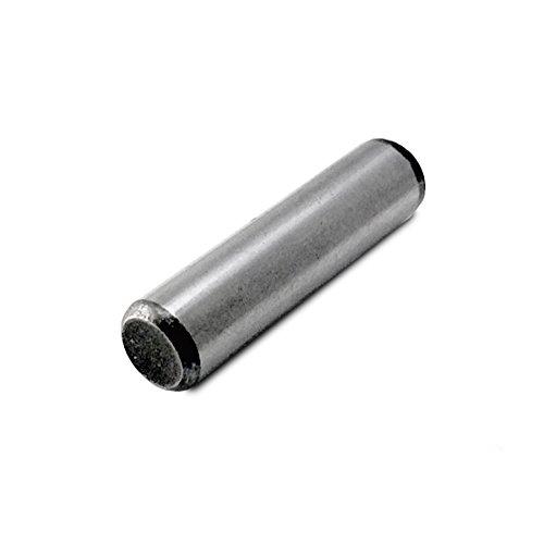 Alloy Steel Dowel Pin 14 Diameter 1-12 Length Pack of 12
