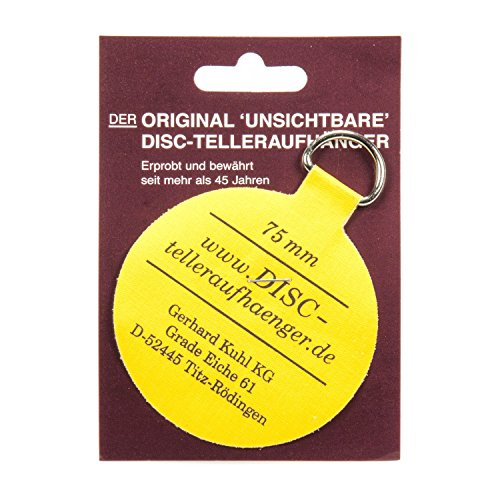 Flatirons Disc Adhesive Plate Hangers 3-Inch