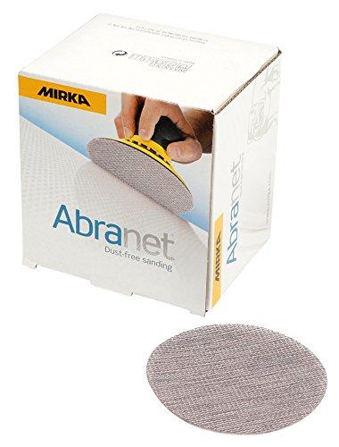 Mirka 9A-203-400   3-Inch 400 Grit Mesh Abrasive Dust Free Sanding Discs  Box of 50 Discs