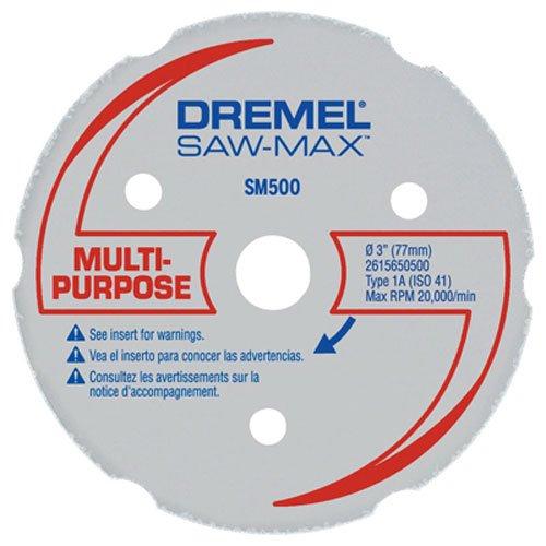 Dremel SM500 3-Inch Wood Plastic Carbide Wheel