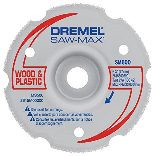 Dremel SM600 3-Inch Wood Plastic Flush Cut Carbide Wheel
