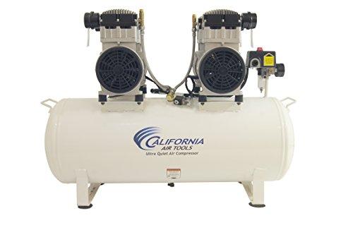 California Air Tools 20040CAD 4 hp 20 gallon Ultra Quiet Oil-Free Steel Tank Air Compressor Auto Drain White