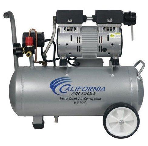 California Air Tools 5510A 1 HP 55 Gal Aluminum Air Compressor New