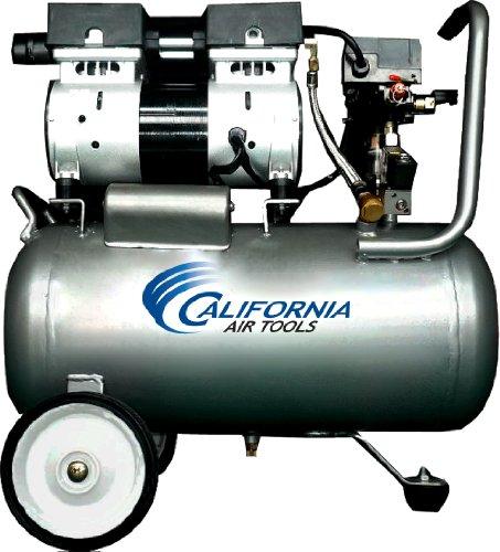 California Air Tools CAT-6310 Ultra Quiet and Oil-Free 10 Hp 63-Gallon Steel Tank Air Compressor