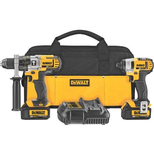 DEWALT DCK290L2 20-Volt MAX Li-Ion 30 Ah Hammer Drill and Impact Driver Combo Kit