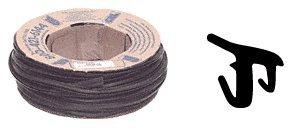 CRL 38 Roll-In EPDM Gasket for Tapered Sidelite Rails - 100 ft Roll