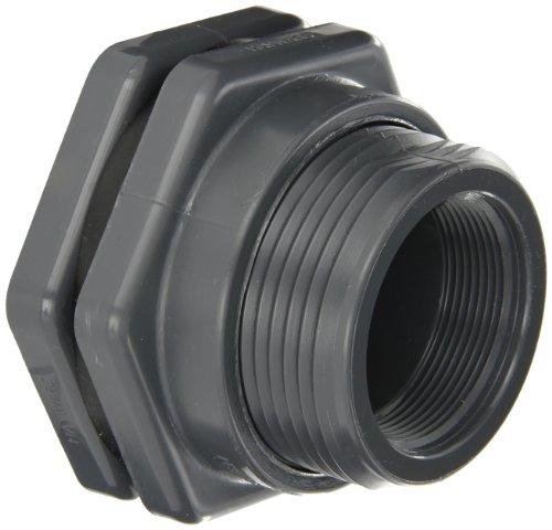 Hayward PVC Bulkhead Fitting EPDM Gasket 2 Threaded