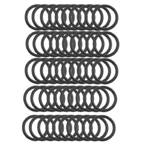 50 Pcs 18mm x 2mm Automobile Sealing NBR O Rings Washers