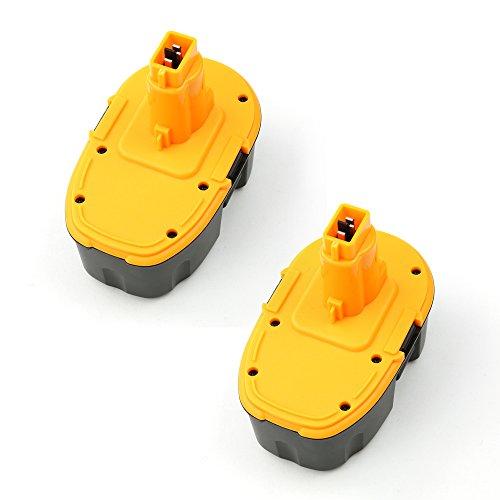 2-PackForceAtt DC9096 18V 30Ah 54Wh Ni-CD Replacement Cordless Power Tool Battery for DEWALT XRP DW9096 DE9093 DE9095 DE9096 DE9098 DW9095 DW9096 DW9098