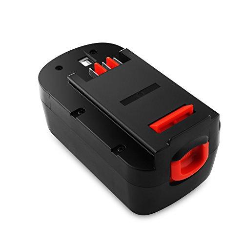 Odec 18V Black Decker cordless power tools Battery for HPB18 HPB18-OPE HPB18-OPE2 A1718 A18 A18NH A18E 244760-00 Firestorm FS180BX FS18BX FS18FL FSB18 NST2118 30Ah Ni-MH