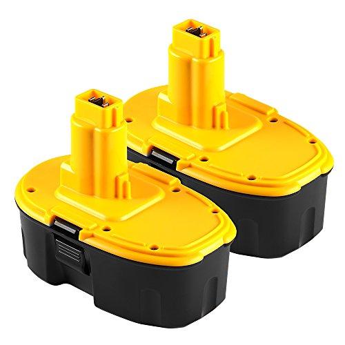 18V Battery for DeWALT DC9096-1 18V XRP Batteries - 2 Pack - Mighty Max Battery brand product