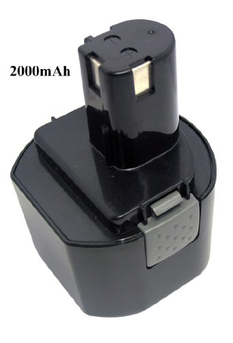 960V2000mAhNi-CdHi-quality Replacement Power Tools Battery for RYOBI CTH962K HP961 RY961 Compatible Part Numbers 1400669