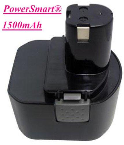 PowerSmart 1500mah Battery for RYOBI CCD1201 CHD1201 CHD1202 CTH1201 CTH1202 CTH1202K2 FL1200 HP1201M HP1201MK2 HP1201KM2 R10510 RY1201 TDS4000 TF1100 Power Tools