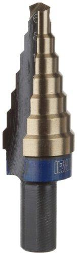 Irwin Industrial Tools 11103CB Unibit 2-mm 7-Steps Cobalt Step Drill Bit