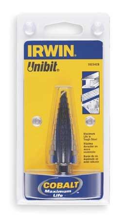 Step Drill Bit Cobalt 2 Sizes 78-1-18