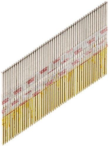Senco DA25EGB 15 Gauge by 2-12 inch Length Stainless Steel Brad Nail 1200 per box