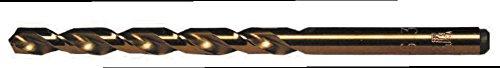 DEEP HOLE TiN JOB 105 HSS M42 COBALT DIN 338 Twist Drill 135 Split Point M-42 Cobalt High Speed Steel 30 Pack