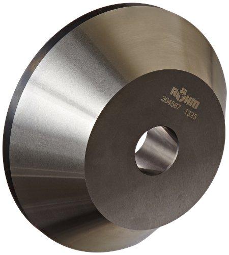 Röhm 304567 Type 608-20 Centering Insert AZ with 75 Degree Taper for Morse Taper 4 Standard Version Size 3 150mm Body Diameter 45mm Length
