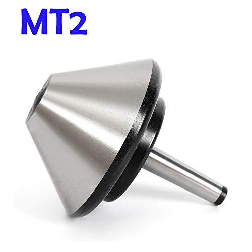 5 120mm MT2 Bull Nose Live Center Morse Taper 2 Bull 75 Degree For Lathe Arbor Bearing Center