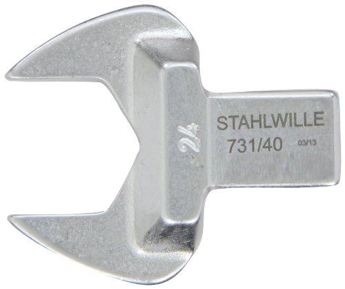 Stahlwille 73140-24 Open End Insert Tool Size 40 24mm Diameter 53mm Width 12mm Height