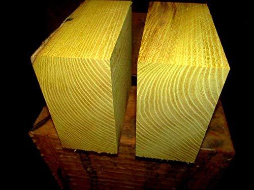 Wood Two 2 Pieces 5 Osage Orange Bowl Blanks Lathe Turning Block Lumber 5 X 5 X 3
