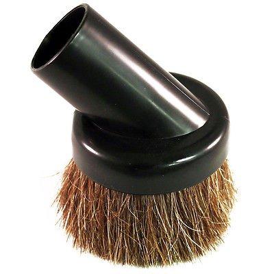 Vacuum Cleaner Dust Dusting Brush Attachment Tool Black Natural Soft Bristle