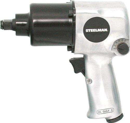 STEELMAN 2731 SilverBlack 12-Inch Heavy Duty Impact Wrench