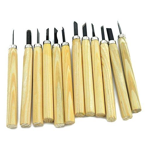 Samyo 12pcs Wood Carving Chisels Knife Tools Set