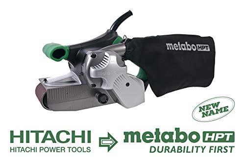 Metabo HPT SB8V2 Variable Speed Belt Sander 3-Inch x 21-Inch V-Belt 90 Amp - 1020W Motor Soft Elastomer Grip Flush Surface Design 95 Lbs 5-Year Warranty